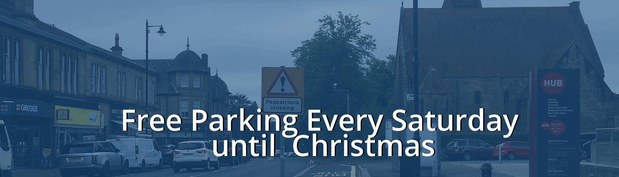 Bearsden Free Parking Saturdays To Christmas